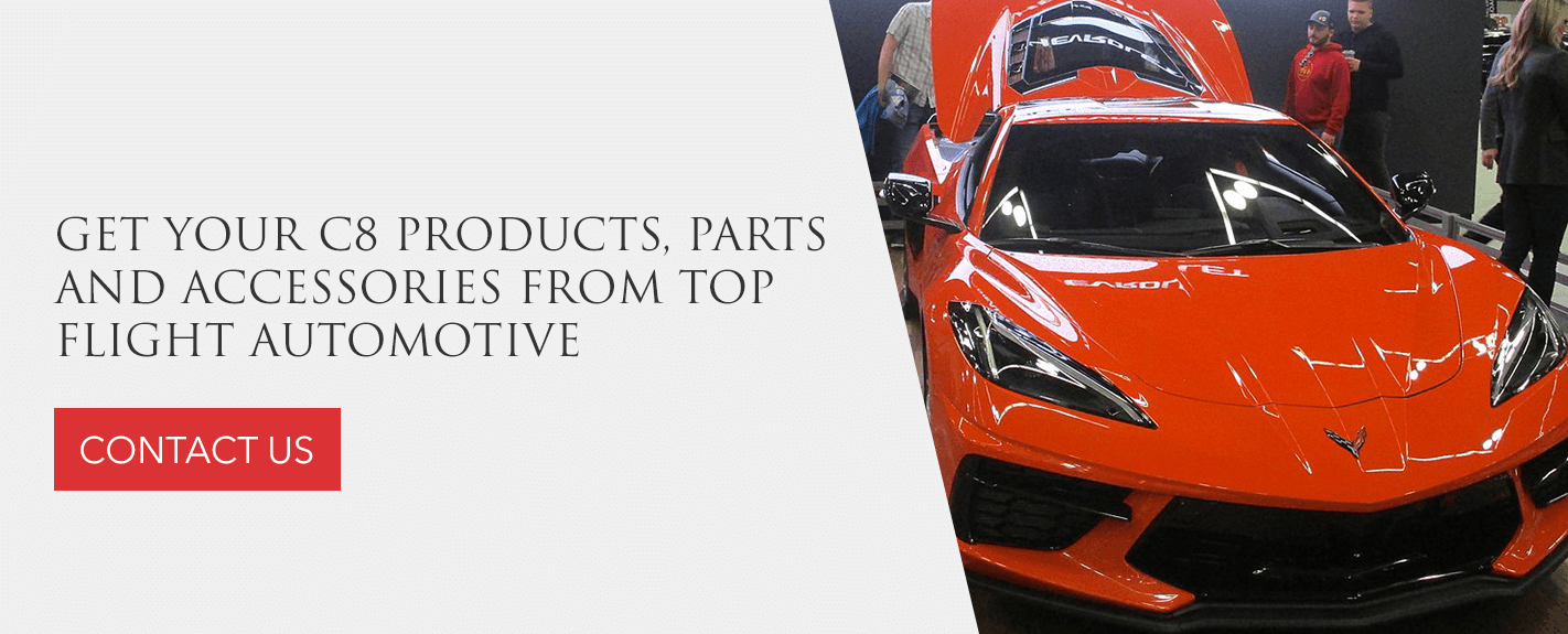 Get C8 Corvette products, parts and accessories from Top Flight Automotive