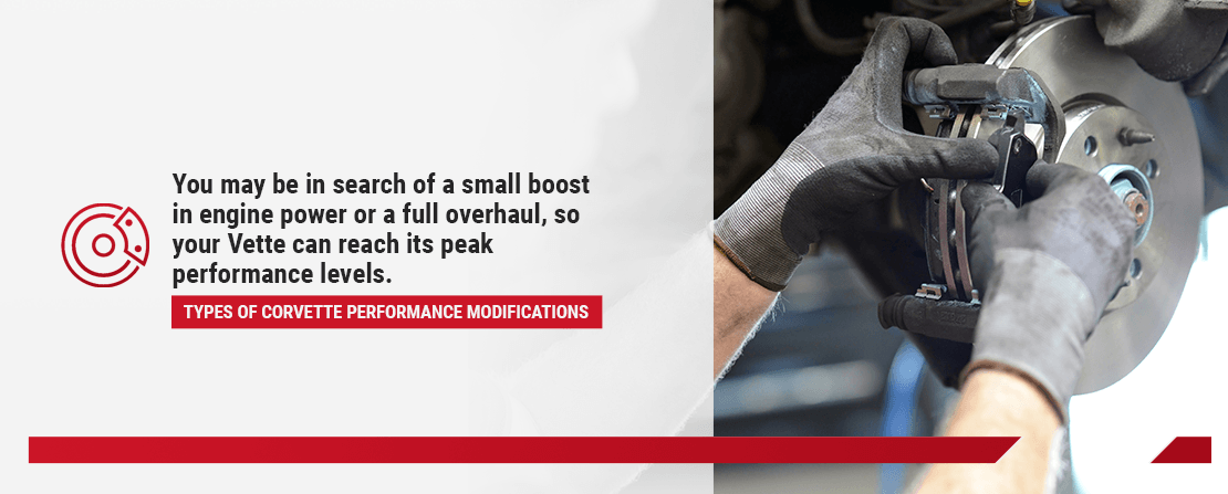 Types of Corvette Performance Modifications