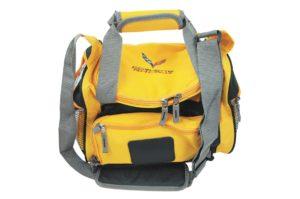 Yellow Corvette cooler bag