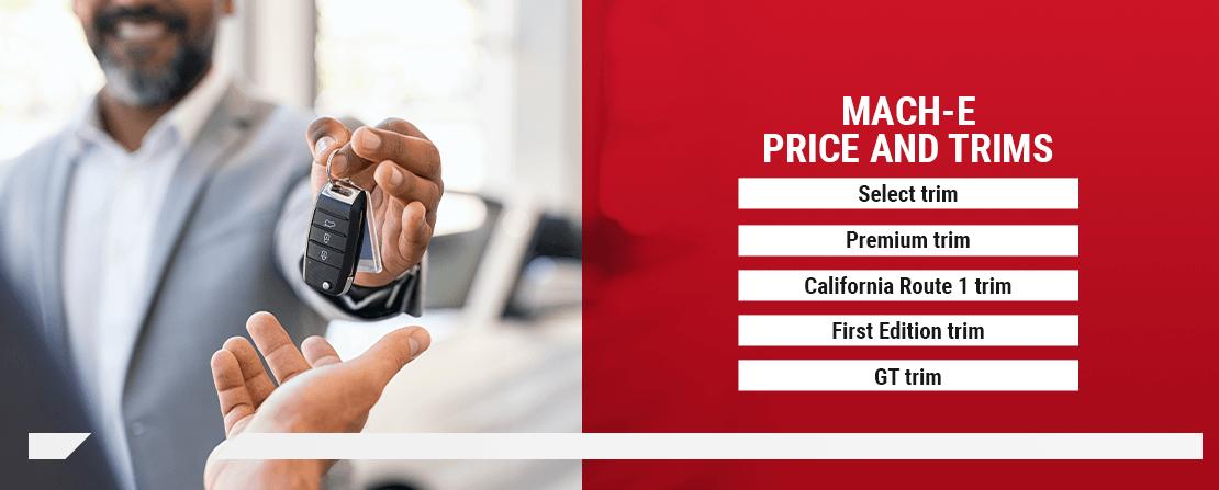 Mach-E Price and Trims