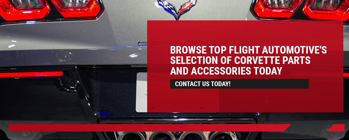 Browse Top Flight Automotive's Selection of Corvette Parts and Accessories Today